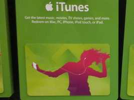 You can get a bonus iTunes gift card worth $15 when you buy one worth $50 or more.