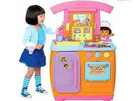 Dora's Fiesta Favorites Kitchen from Fisher Price will cost $49.99 (50% off).