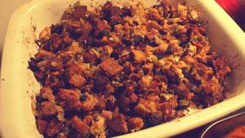 And by far, the favorite dish?1) Stuffing