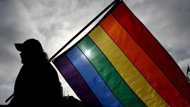 Gay pride flag blurb