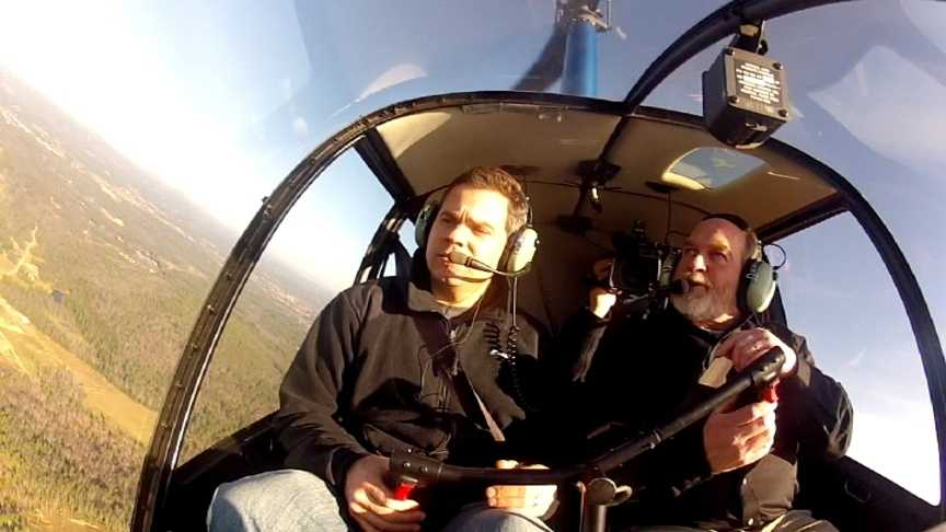 Monday Dember 3rd: Helicopter School