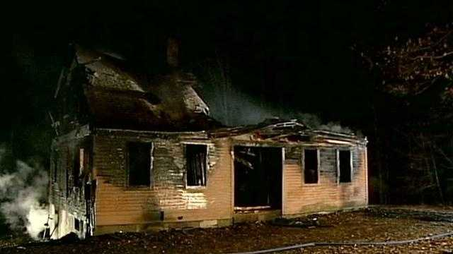 A 2-alarm fire destroyed a home on Randall Road in Canterbury early Friday morning.