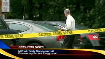 No. 21: In August, a body was found in the playground of a Milford elementary school. Click here to watch the video.
