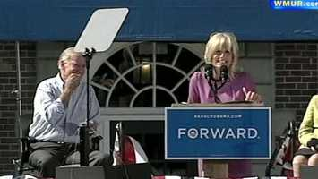 No. 12: Dr. Jill Biden slipped up during a speech at Dartmouth College, making her husband and the crowd chuckle. Click here to watch the video.