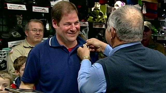 National Guard honors Dover business owner