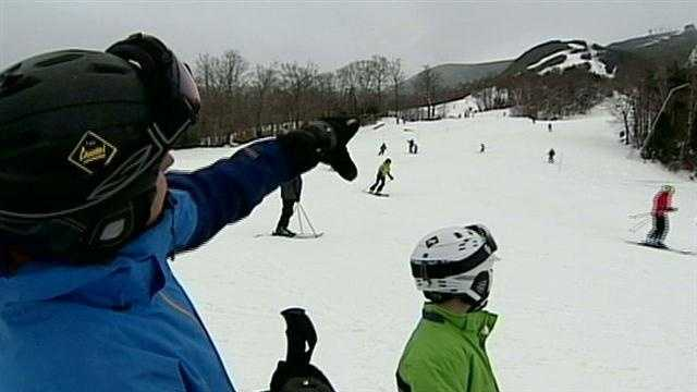 Nor'easter brings extra snow to Cannon Mountain