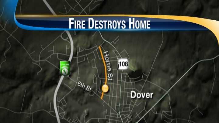 House fire, Horne St., Dover