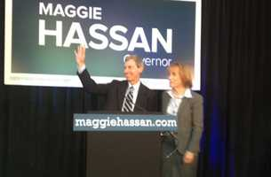 Hassan is only the second woman to be elected governor of New Hampshire.