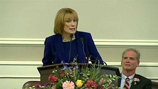 Hassan delivers inauguration address