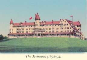 """Kevin's favorite New Hampshire landmark is Lombard's Hill in Colebrook. """"It's at the site of a half-built 'Metallak,' which was supposed to be a luxury hotel in the late 1800's but was knocked down by a series of storms in April and May 1893."""" Kevin visited the location back in 2010."""