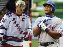 """Kevin is a diehard New York Rangers and Texas Rangers fan. He calls it """"purely a coincidence, though."""""""