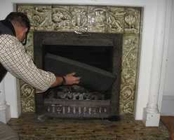 Keep your fireplace flues shut tight when not in use! Fill the throat of the flue with insulation if the fireplace is never used.