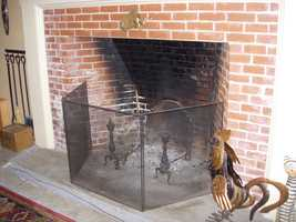 Think twice about using large fireplaces on very cold nights. The damper will need to remain open even after the fire goes out, because of the hot coals, and you will have a substantial amount of heat loss up your chimney.