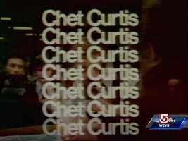 Chet Curtis delivered the news to generations of New Englanders for almost 50 years.
