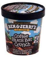 His favorite ice cream is Coffee Heath Bar.