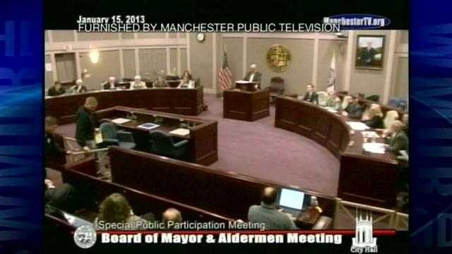 A controversy between a Manchester alderman and the police chief has escalated to a City Hall confrontation.