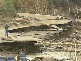 """The most memorable story Ray has ever covered were the Alstead floods from several years ago. """"I had never seen destruction on a scale like that before and hope never to see anything like that again,"""" Ray said."""
