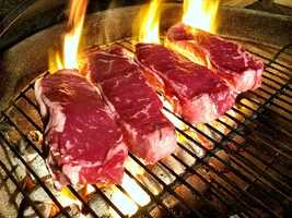 """The food Ray couldn't live without? Meat. """"Give it to me grilled, roasted, barbequed. It doesn't matter."""""""