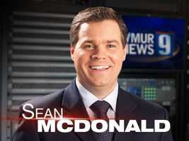 """Ray says the person he most admires is morning anchor Sean McDonald. """"I just admire his savoir faire and strive to be more like him every day,"""" Ray said."""