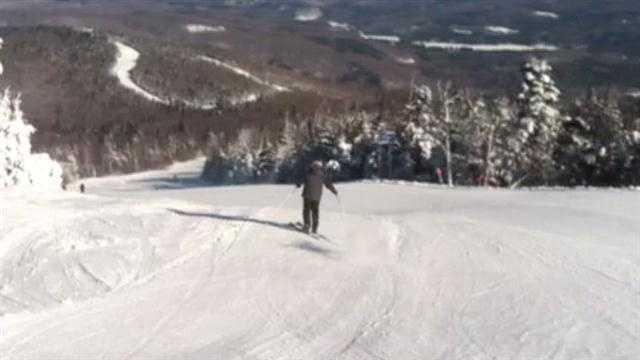 The slopes look fresh at Okemo Mountain Resort on Friday.