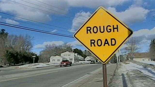 Winter weather causes road problems