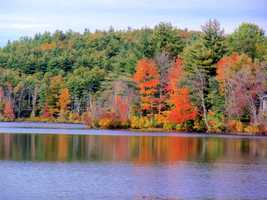 Tom enjoys September and October in New Hampshire the most.