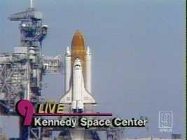 With the nation watching, the shuttle exploded 73 seconds after lift off.