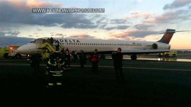 Logan Plane Takeoff Trouble