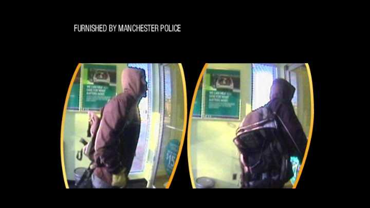 Manchester attempted bank armed robbery