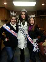 Pictured are Nyla Page, Miss NH Junior High School America 2013, Sophie Rancourt, Miss NH High School America 2013 and Amber Foucher, Miss NH USA.