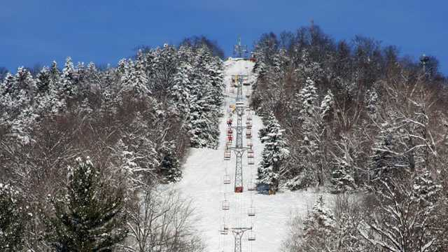 Black Mountain chairlift