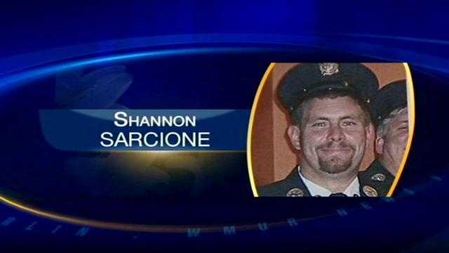 Fire captain named honorary chief after death