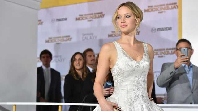 Jennifer Lawrence, November 2014 file photo