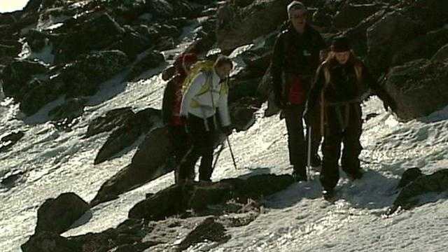 GMA team hikes Mt. Washington