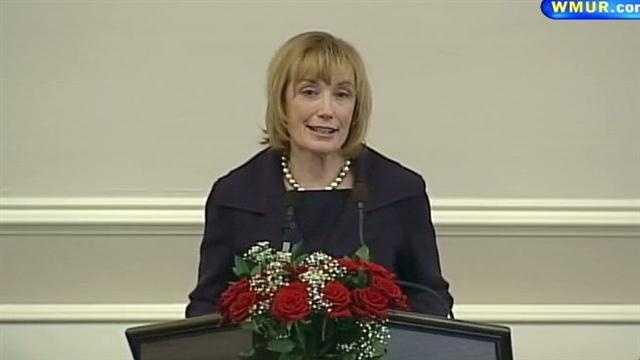 Gov. Maggie Hassan budget address