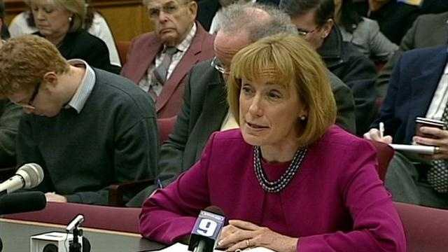 Gov. Maggie Hassan on Tuesday urged lawmakers to act to allow casino gambling in the state, but she's facing serious resistance to her spending plan.