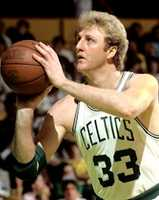 "If Mike could interview anyone past or present it would be Larry Bird. ""In his prime, one of the best NBA players ever! I grew up as, and still am an avid Celtics fan in the 80s,"" Mike said."