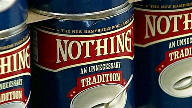 Food bank launches Nothing campaign