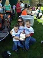 The Bailey Boys show their support at the annual March for Babies.