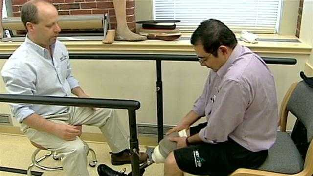 N.H. company helps Baltimore priest get new leg