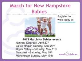 For more information or to register for the March for Babies walk near you, click the link below: http://www.marchforbabies.org