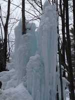 Giant icicles in Wakefield