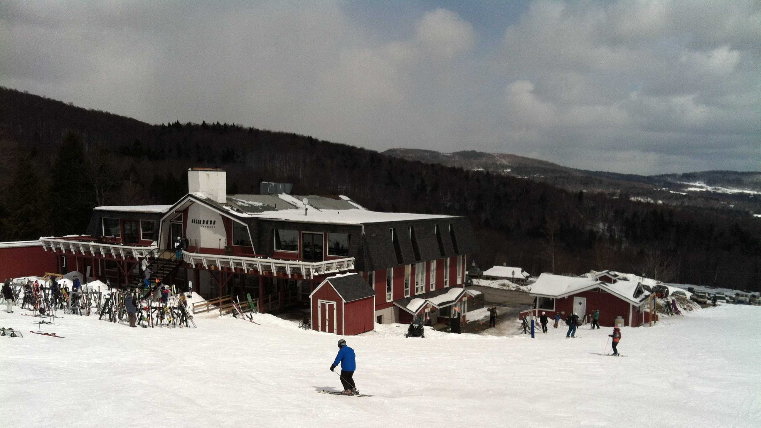 Skiing at Sugarbush