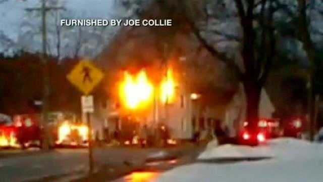 Firefighters respond to 2 alarm fire in Laconia