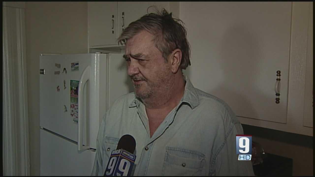 Man says attackers stole prescription drugs