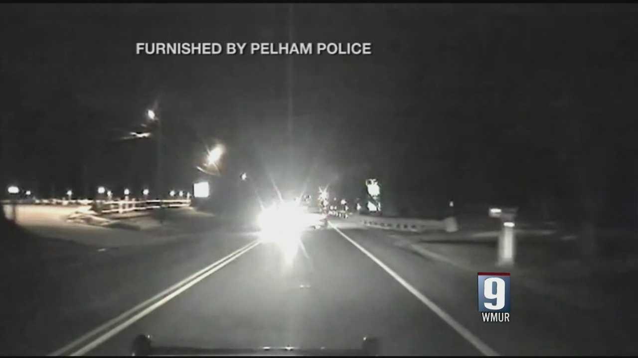 Dash cam captures Pelham collision