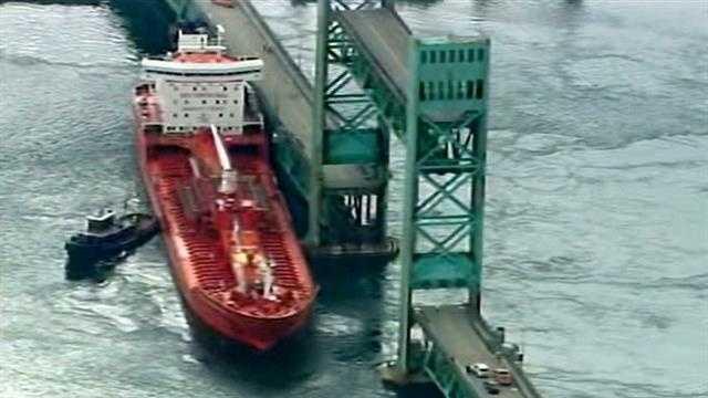 Sarah Long Bridge sustains 'severe structural damage' in crash, DOT says
