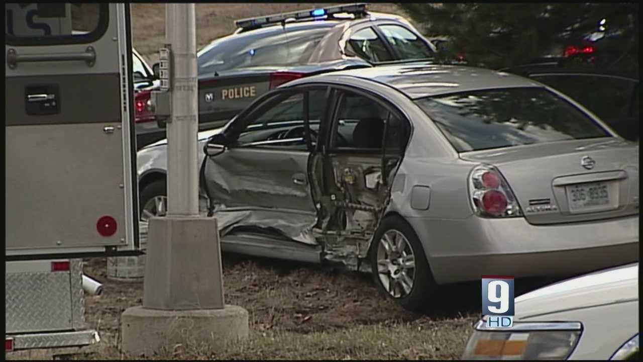 Toddler in car during high-speed police chase, crash