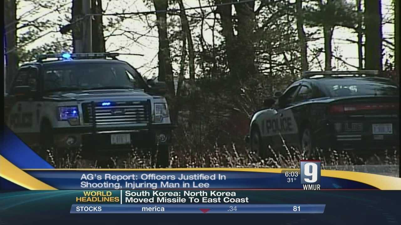 Lee police shooting ruled justified