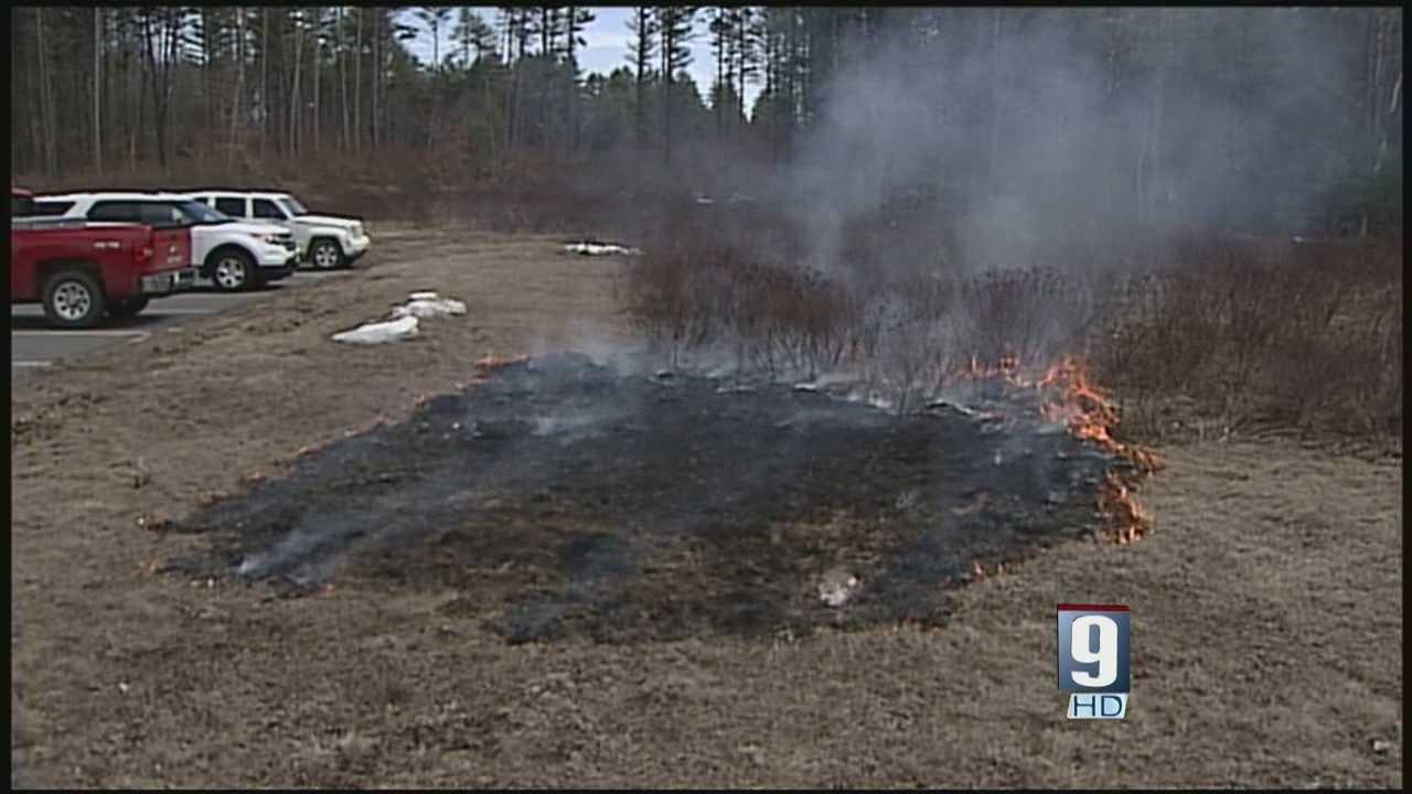 High danger of brush fires in state